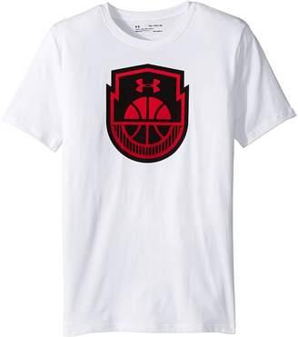Under Armour Kids Basketball Icon Short Sleeve Tee Boy's T Shirt