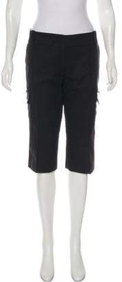 Marc Jacobs Mid-Rise Knee-Length Shorts