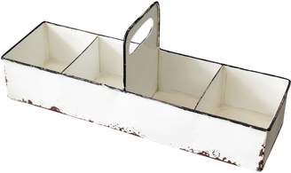 FORESIDE Slotted Enamel Tray