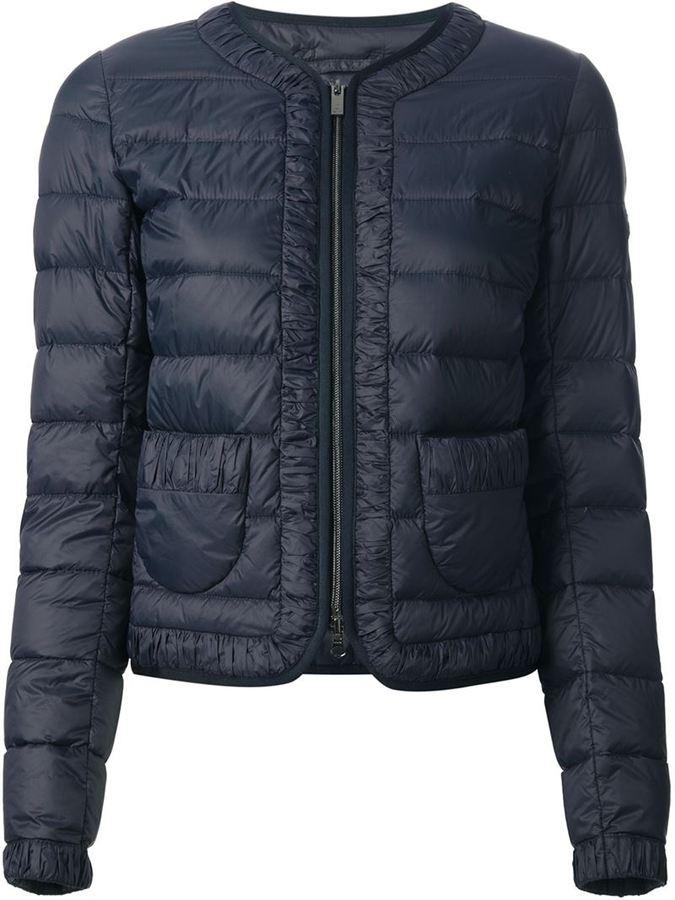 Hogan cropped padded jacket