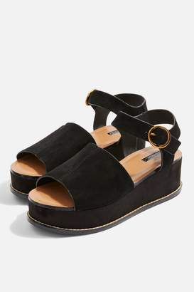 Topshop WOW Platform Wedge Sandals