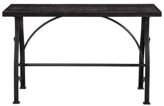 Accentrics Home Tiburon Wood & Metal Sofa Table