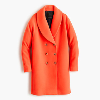 The shawl-collar coat in stadium-cloth $378 thestylecure.com