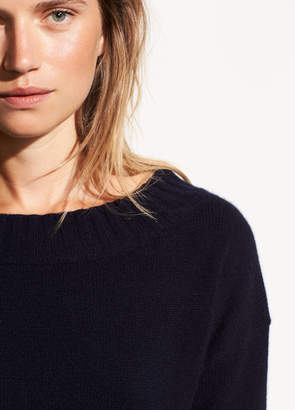 Vince Off-the-Shoulder Wool and Cashmere Sweater
