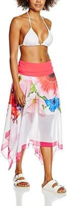 Sunflair Women's Multistyle-Rock Tulip Garden Multiway Beachwear,(Manufacturer Size: 40)