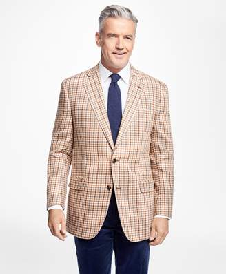 Brooks Brothers Madison Fit Windowpane Sportcoat
