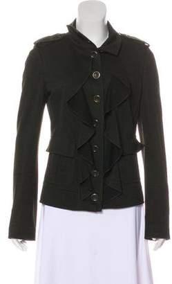 Diane von Furstenberg Che Ruffle-Trimmed Jacket