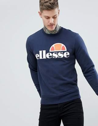 Ellesse Sweatshirt With Classic Logo In Navy