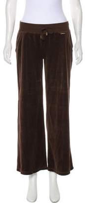 MICHAEL Michael Kors Fleece Mid-Rise Pants