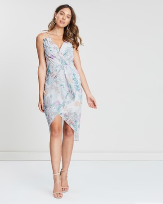 Cooper St Posy Tie Waist Mini Dress