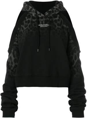 Marcelo Burlon County of Milan Leopard hoodie