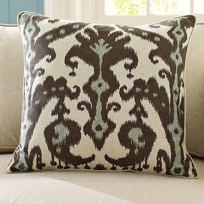 Marrakesh Printed Linen Pillow