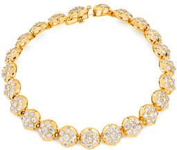Carbon & Hyde Crown Tennis Bracelet