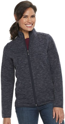 Croft & Barrow Women's Quilted Zip-Front Jacket