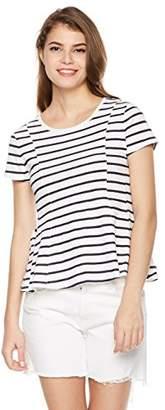 Painted Heart Women's Dolman Sleeve Peplum T Shirt