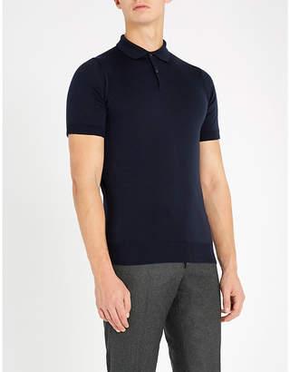 John Smedley Payton wool polo shirt