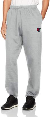 Champion Life Men's Reverse Weave Pants with Pockets, Oxford Gray/Big C Left Chest, X Large