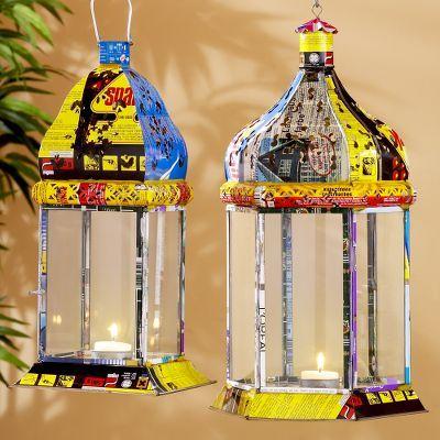 Recycled Metal Dome Lanterns