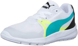 Puma Duplex Evo Ps Kid's Running Shoe, White/Spectra G