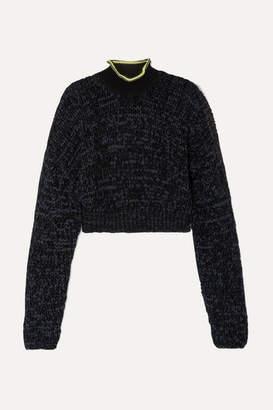 Alexander Wang Knitted Turtleneck Sweater - Black