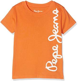 Pepe Jeans Boy's Waldo Short T-Shirt,(Manufacturer size: 16)