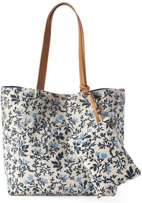 Sonoma Goods For Life SONOMA Goods for Life Reversible Tote & Coin Pouch Set