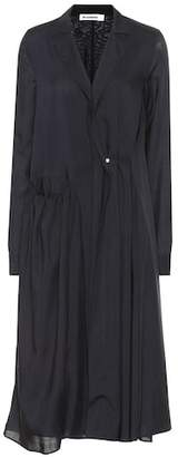 Jil Sander Long-sleeved wool dress