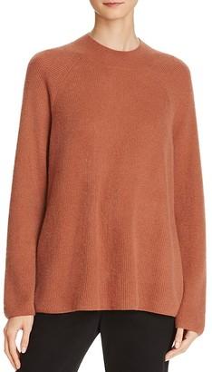 Vince High Crewneck Cashmere Sweater $345 thestylecure.com