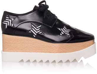 Stella McCartney Elyse Star Lace Up Platform Shoes