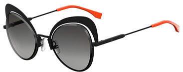 Fendi Cutout Cat-Eye Sunglasses