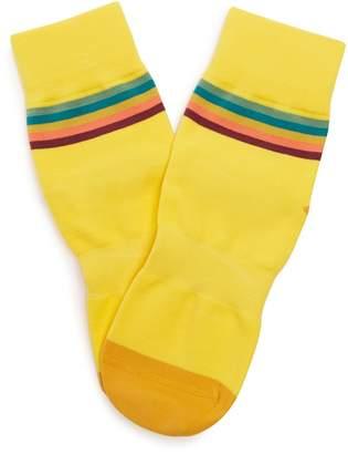 Paul Smith Artist Stripe cycling socks