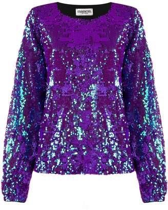 Essentiel Antwerp sequin embellished shirt