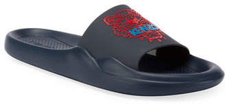 Kenzo Men's Logo EVA Pool Slide Sandals
