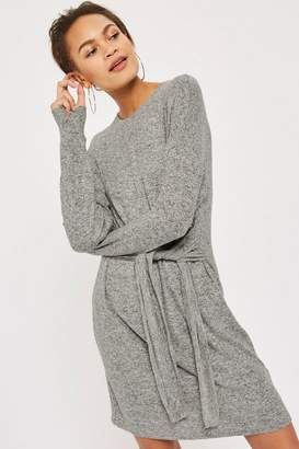 Topshop TALL Cut and Sew Sweater Dress