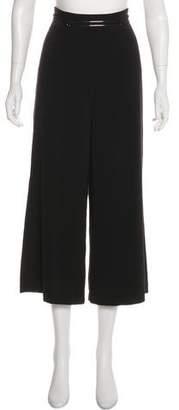 Halston High-Rise Wide-Leg Pants