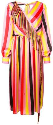 MSGM fringed long dress