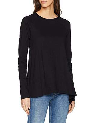 Replay Women's W3190a.000.22676p Long Sleeve Top, Black 98, Large