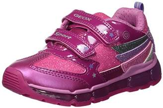Geox Girl's Andriod Light-Up Sneaker,30 EU/