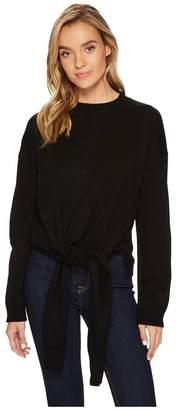 J.o.a. Tie Front Sweater Women's Sweater