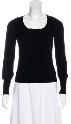 Christian Dior Wool Long Sleeve Sweater