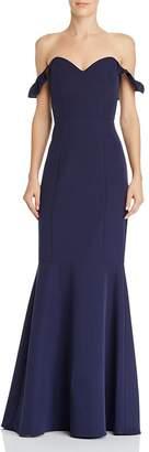 WAYF Gabriela Off-the-Shoulder Gown