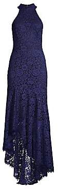 Shoshanna Women's Grazie Lace High-Low Gown - Size 0