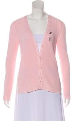Ermanno Scervino Button-Up Knit Cardigan