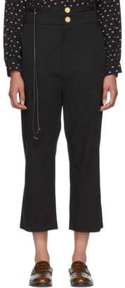 Loewe Black Tassel Trousers