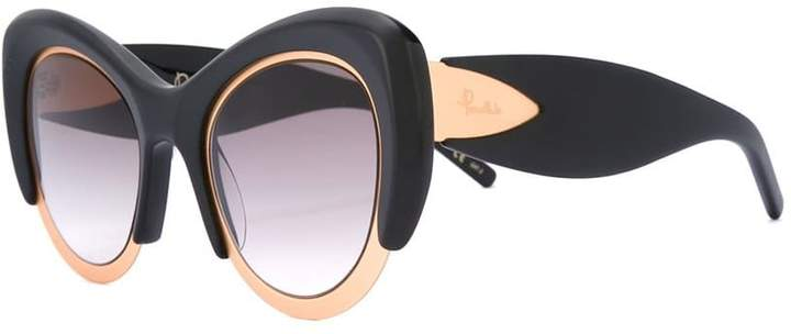 Pomellato oversized cat eye frame sunglasses