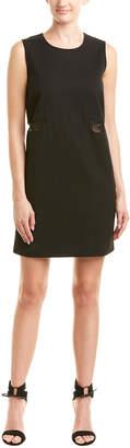 Maje Lace Shift Dress