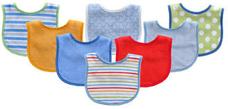 Baby Vision Luvable Friends Drooler Bibs, 8-Pack, One Size