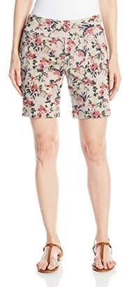 """Jag Jeans Women's Ainsley Pull on 8"""" Short"""
