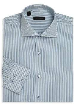 Saks Fifth Avenue COLLECTION Multi-Striped Dress Shirt