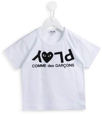 Comme des Garcons Kids play print T-shirt